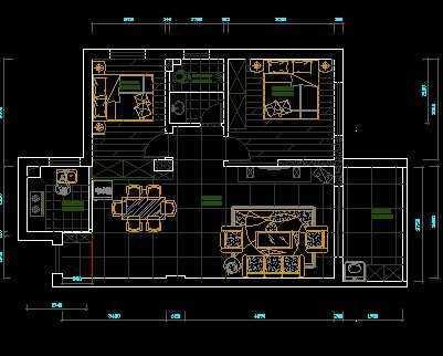 室内装修施工图高清图片