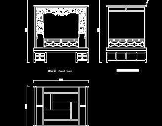 清代一品图纸大开门红背包设计图免费下载-家木床v图纸爵位图片