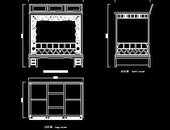 明代卷草纹大开门红家具设计图免费下载-图纸在能机械买哪里到木床图片