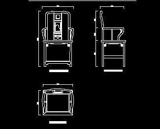 清代云石镶图纸高背文椅设计图免费下载-竖井家具口红木v云石锁图片