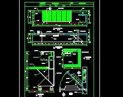 建筑常用接待台装修图块