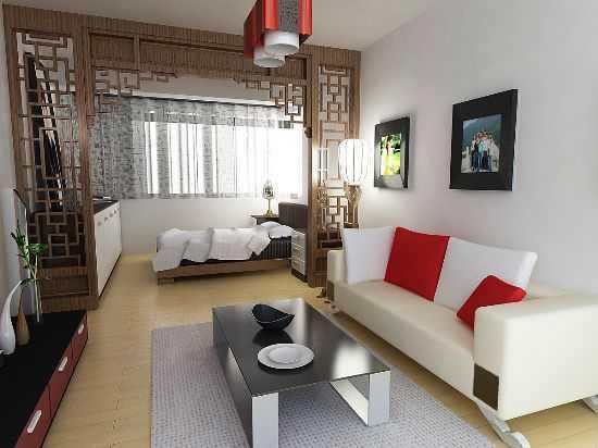 小户型室内设计 - 装修效果图