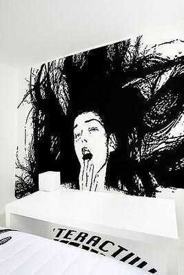 个性家装:奇幻手绘墙画