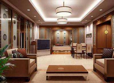 簡約大氣風格 客廳裝修效果圖