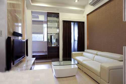 不思议小户型 43平四房两厅简约时尚居 - 装修效果图
