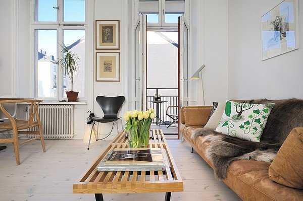 欧式简约的小户型客厅装修效果图大全