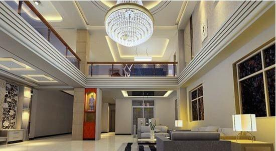 美式别墅吊顶 10个精美装修效果图