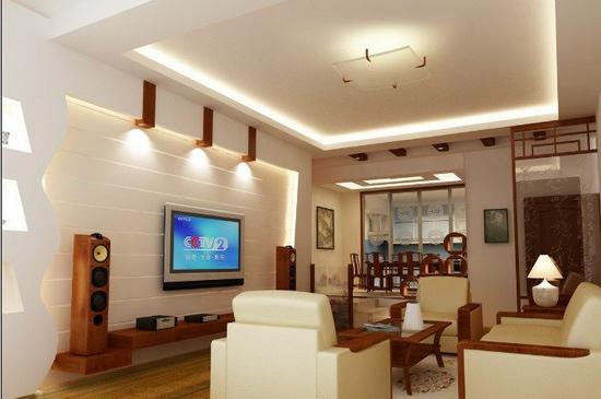 欧式客厅电视背景墙 2012的美 - 装修效果图