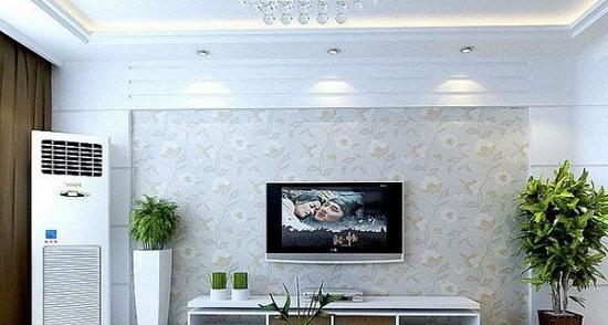 欧式客厅电视背景墙 简约不简单