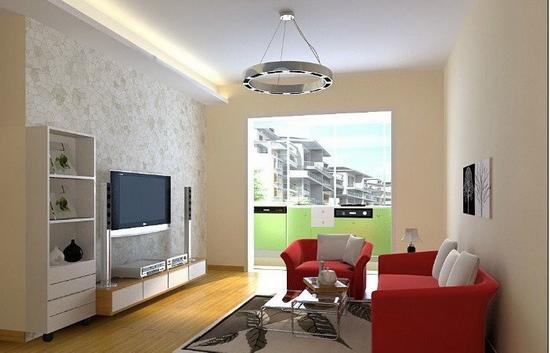 欧式客厅电视背景墙 公寓的适用化图片