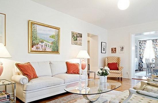 小户型客厅装修效果图 时尚简约