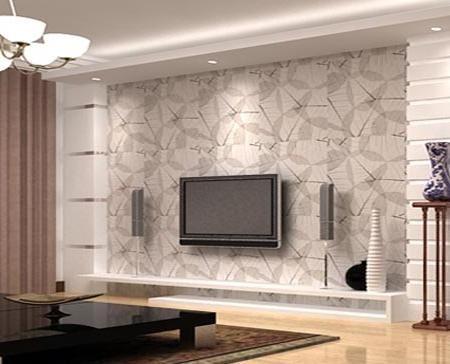 欧式客厅电视背景墙 小资的高雅气质 - 装修效果图