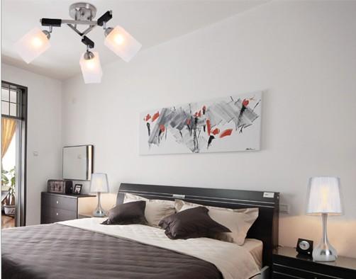 中式风格卧室背景墙 公寓的情怀