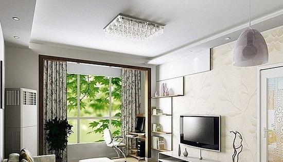 欧式客厅电视背景墙 80后的装修升华