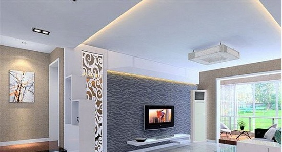 欧式客厅电视背景墙 年末大装修