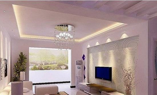 欧式客厅电视背景墙 好看的家装