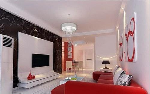 欧式客厅电视背景墙 不同的品位意境