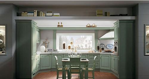 田园简约风格厨房 演绎家居的优雅