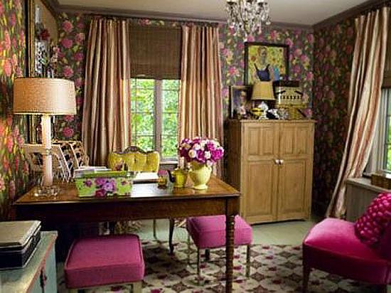 巧用角落小空间 超in家庭工作室装饰