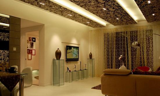 欧式客厅电视背景墙 喜欢的文艺范 - 装修效果图