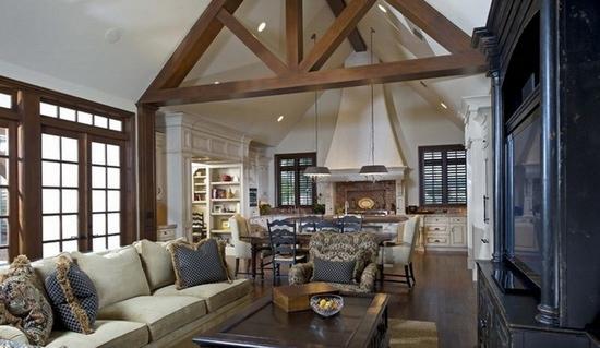 美式别墅吊顶 采用现代的设计