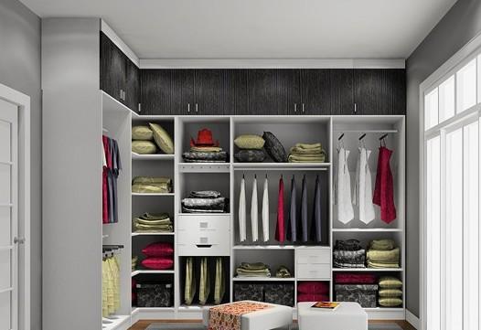 家居收纳 衣帽间装修设计案例实用图解