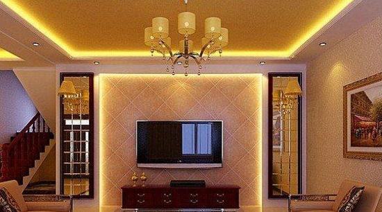 欧式客厅电视背景墙 让它变得漂亮