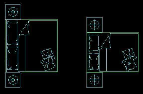 CAD科技床图块免费下载图库字体cad论文图片