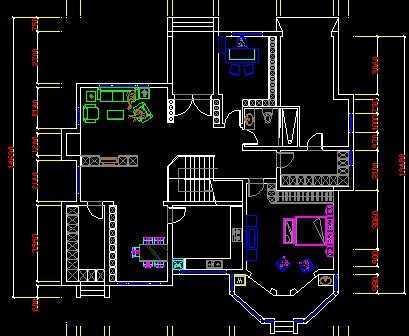 别墅设计图免费下载