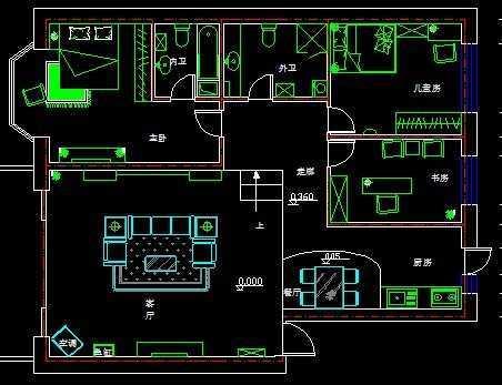 房间布置平面图