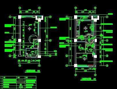 单身公寓施工图免费下载 - 装修图纸 - 土木工程网