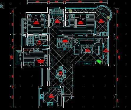 简欧现代家庭装修设计图