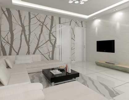 时尚简约住宅室内装修图(含效果)