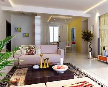四居室室内装修设计图(含效果)