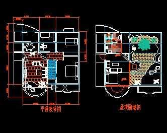 某住宅装修平面图免费下载 装修图纸 高清图片