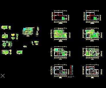 某公司办公空间装修设计图