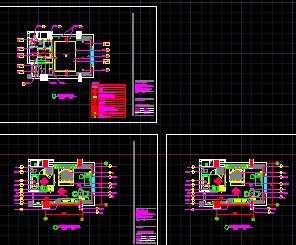 某五星酒店标准客房设计图免费下载c4d绘制投射图片