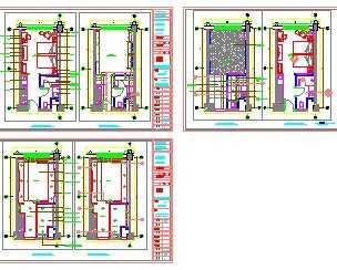 宾馆标准间装修设计图 高清图片