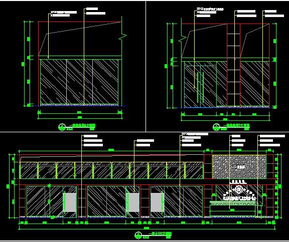 社区医院的室内外装修竣工图纸,主要有瓷砖干挂、地砖铺贴、铝扣板吊顶、铝挂片吊顶、石膏板吊顶、服务台制作、玻璃隔断制作、外墙铝塑板幕墙、雨棚安装、玻璃幕墙安装。