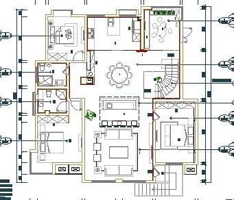 某别墅装修设计图免费下载 装修图纸 -某别墅装修设计图高清图片