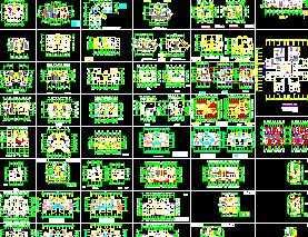百余种住宅户形平面图
